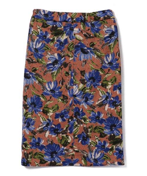 SHIPS WOMEN(シップス ウィメン)/フラワープリントタイトスカート/313250322_img11