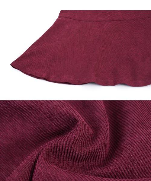 ur's(ユアーズ)/ベルト付裾フレアコーデュロイスカート/BQXU0273_img07