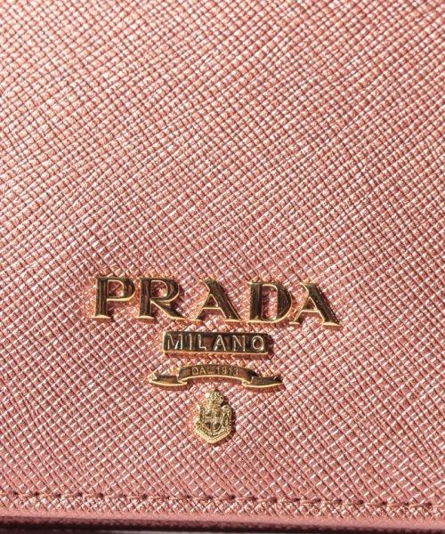 PRADA(プラダ)/【PRADA】2つ折り財布/SAFFIANOMETAL ORO【ANTICO MORDORE】/1MV204QWACBV_img05