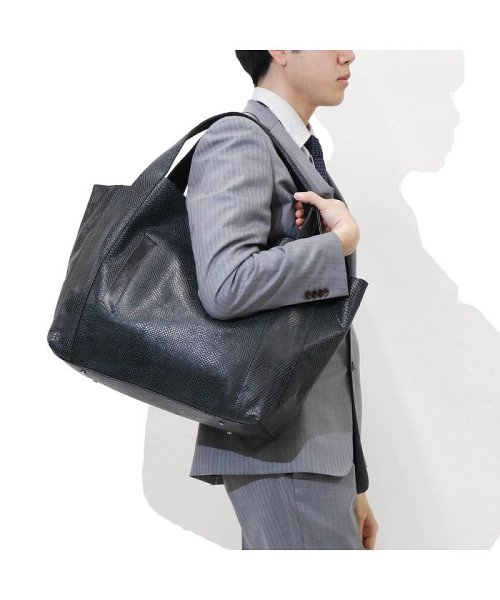 aniary(アニアリ)/アニアリ トート aniary スケイルレザー Scale Leather ヘビ柄 革 18-02000/ANY-18-02000_img05