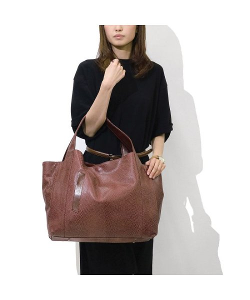 aniary(アニアリ)/アニアリ トート aniary スケイルレザー Scale Leather ヘビ柄 革 18-02000/ANY-18-02000_img06