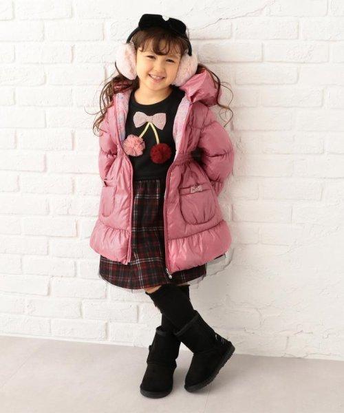 anyFAM(KIDS)(エニファム(キッズ))/【KIDS】ポリエステルシレー/ポリエスエルタフタプリント コート/SCFKYW0441_img01