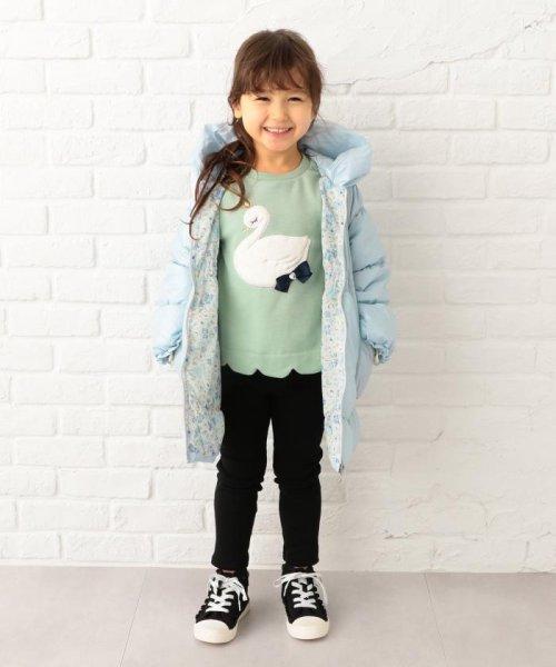 anyFAM(KIDS)(エニファム(キッズ))/【KIDS】ポリエステルシレー/ポリエスエルタフタプリント コート/SCFKYW0441_img19
