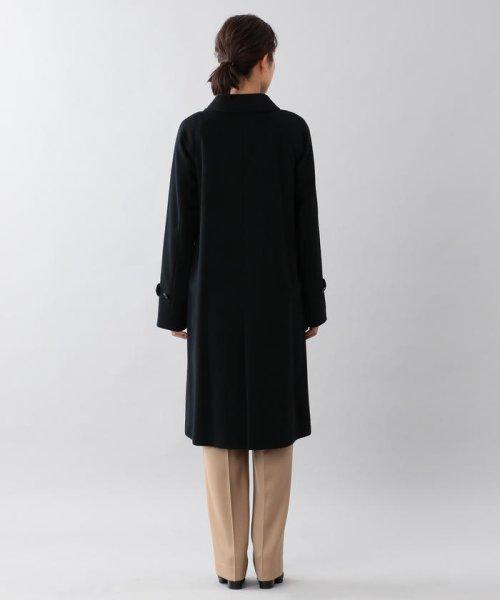 SANYO COAT(サンヨーコート)/<Rain Wool>ウールカシミヤバルマカーンコート/T1B10834--_img02