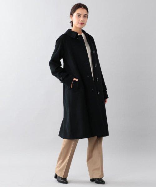 SANYO COAT(サンヨーコート)/<Rain Wool>ウールカシミヤバルマカーンコート/T1B10834--_img03