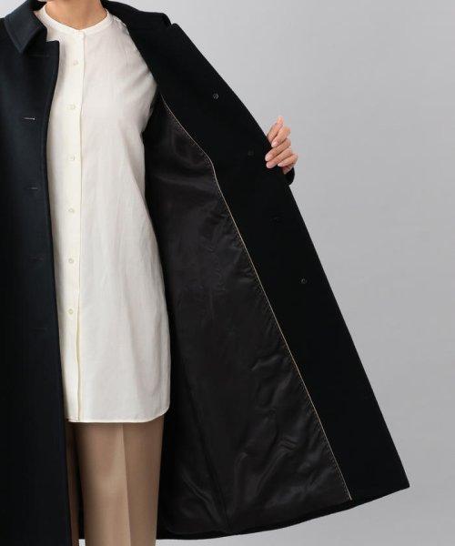SANYO COAT(サンヨーコート)/<Rain Wool>ウールカシミヤバルマカーンコート/T1B10834--_img09