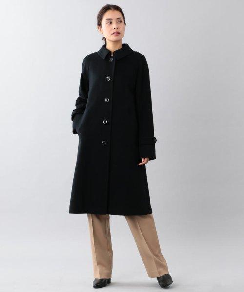 SANYO COAT(サンヨーコート)/<Rain Wool>ウールカシミヤバルマカーンコート/T1B10834--_img10