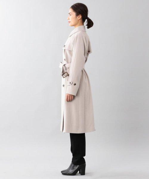 SANYO COAT(サンヨーコート)/<Rain Wool>ウールカシミヤダブルトレンチコート/T1B54834--_img01