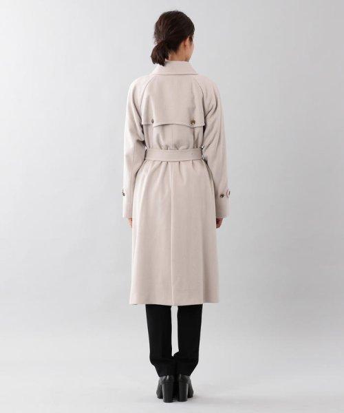SANYO COAT(サンヨーコート)/<Rain Wool>ウールカシミヤダブルトレンチコート/T1B54834--_img02