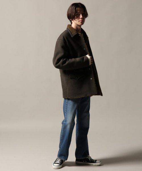 Journal Standard TRISECT(ジャーナルスタンダード トライセクト)/AMERICAN MOUTON RANCH COAT/18011640013030_img01