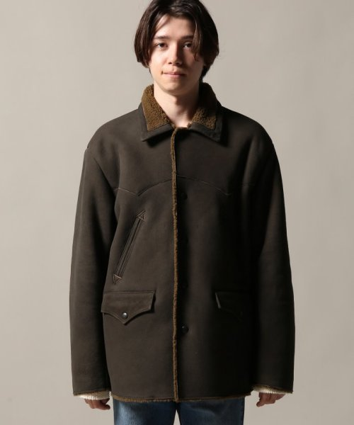Journal Standard TRISECT(ジャーナルスタンダード トライセクト)/AMERICAN MOUTON RANCH COAT/18011640013030_img02