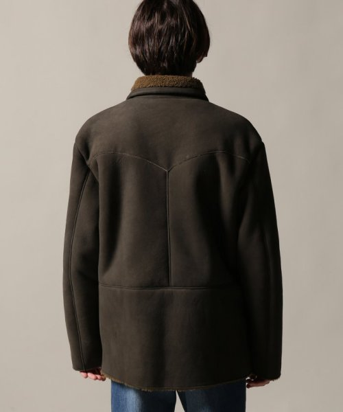 Journal Standard TRISECT(ジャーナルスタンダード トライセクト)/AMERICAN MOUTON RANCH COAT/18011640013030_img04