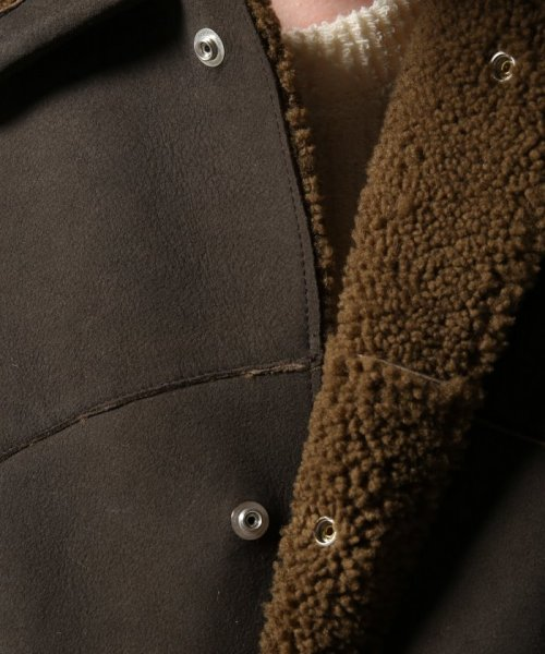 Journal Standard TRISECT(ジャーナルスタンダード トライセクト)/AMERICAN MOUTON RANCH COAT/18011640013030_img09