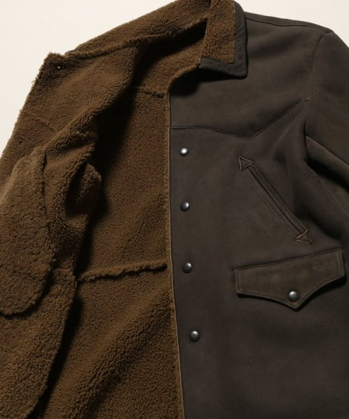 Journal Standard TRISECT(ジャーナルスタンダード トライセクト)/AMERICAN MOUTON RANCH COAT/18011640013030_img11