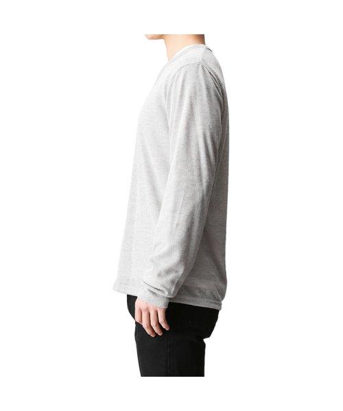 MAC HOUSE(men)(マックハウス(メンズ))/Real Standard Vネックニットソーアンサンブル長袖Tシャツ 73-7108P-ND/01221700370_img01