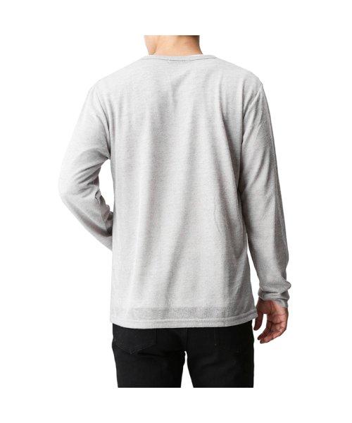 MAC HOUSE(men)(マックハウス(メンズ))/Real Standard Vネックニットソーアンサンブル長袖Tシャツ 73-7108P-ND/01221700370_img03