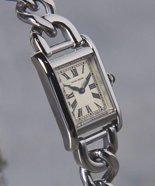 UNITED ARROWS(ユナイテッドアローズ)/UBCB スクエア メタル チェーン 腕時計†/17436990831_img01