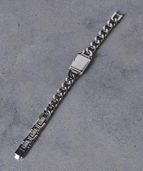 UNITED ARROWS(ユナイテッドアローズ)/UBCB スクエア メタル チェーン 腕時計†/17436990831_img02