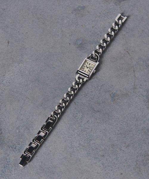 UNITED ARROWS(ユナイテッドアローズ)/UBCB スクエア メタル チェーン 腕時計†/17436990831_img03