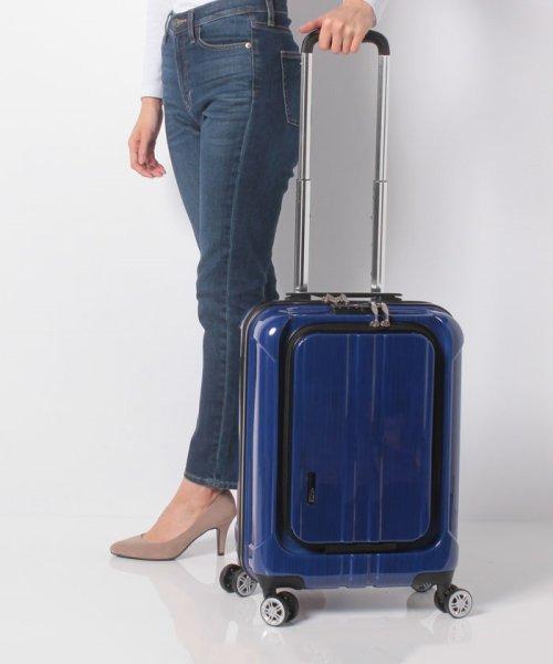 Travel Selection(トラベルセレクション)/スーツケース フロントオープン ポライト S 機内持ち込み対応サイズ/7420342_img12