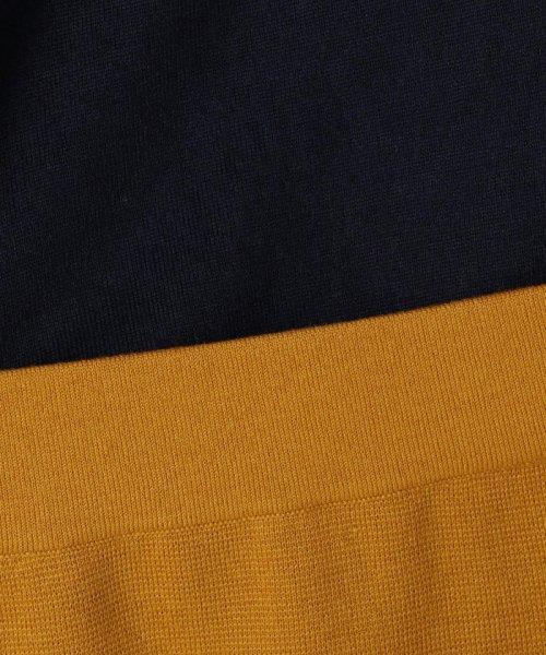 NOLLEY'S(ノーリーズ)/[新色追加]バイカラ―レイヤードニットワンピース/8-0035-6-02-003_img08