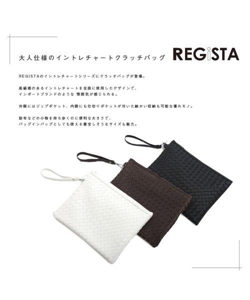 REGiSTA(レジスタ)/イントレチャートPUレザークラッチバッグ/522_img02