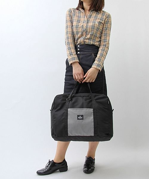 REGiSTA(レジスタ)/【大容量】ナイロンパッカブル(折りたたみ)ボストンバッグ/旅行バッグ/570_img04