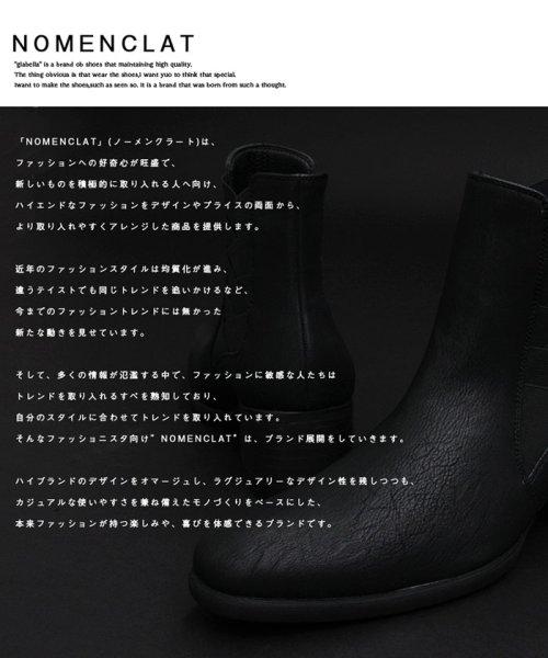NOMENCLAT(ノーメンクラート)/デザインサイドゴアハイヒールブーツ/NCB-1002_img02