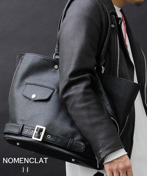 NOMENCLAT(ノーメンクラート)/ライダースデザインクラッチバッグ/NCBG-1014_img20