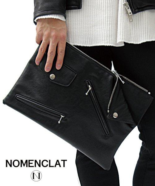 NOMENCLAT(ノーメンクラート)/ライダースデザイントートバッグ/NCBG-1015_img16