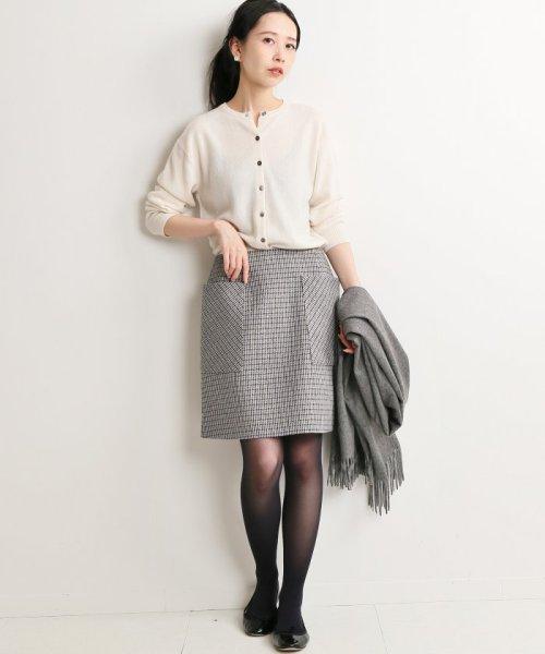 IENA(イエナ)/《追加》チェック台形スカート◆/18060900444130_img02