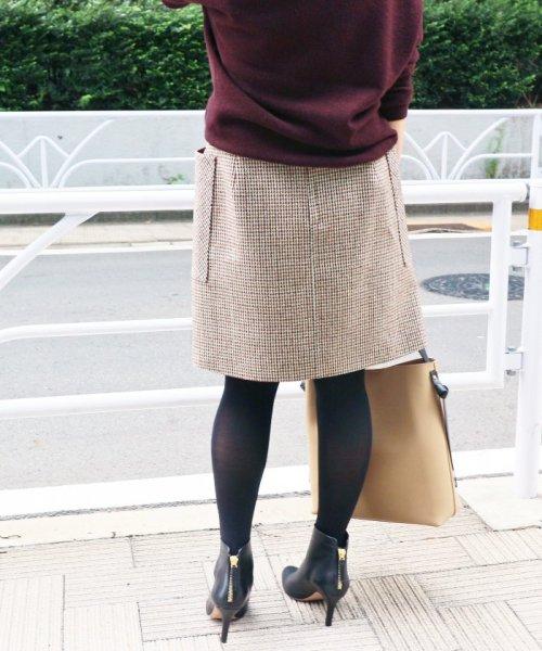 IENA(イエナ)/《追加》チェック台形スカート◆/18060900444130_img19