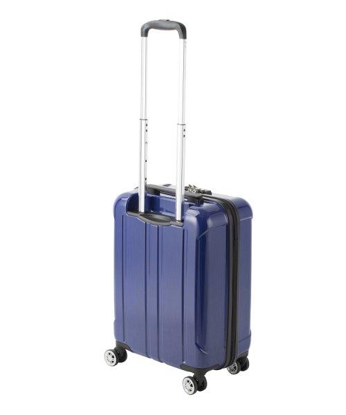 Travel Selection(トラベルセレクション)/スーツケース フロントオープン ポライト S 機内持ち込み対応サイズ/7420342_img01