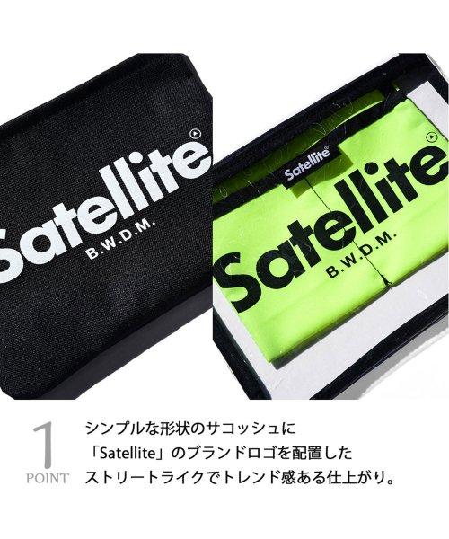 AMS SELECT(エーエムエスセレクト)/【Satellite/サテライト】BASIC SACOCHE/ベーシックサコッシュ/サコッシュ/ミニショルダー/クリアバッグ/SCD-011_img07