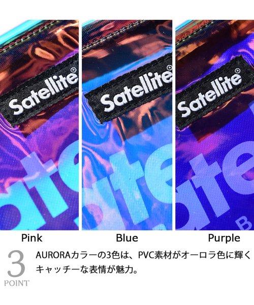 AMS SELECT(エーエムエスセレクト)/【Satellit/サテライト】CLEAR/クリアサコッシュ/サコッシュ/ビニールバッグ/PVC/SCD-012_img08