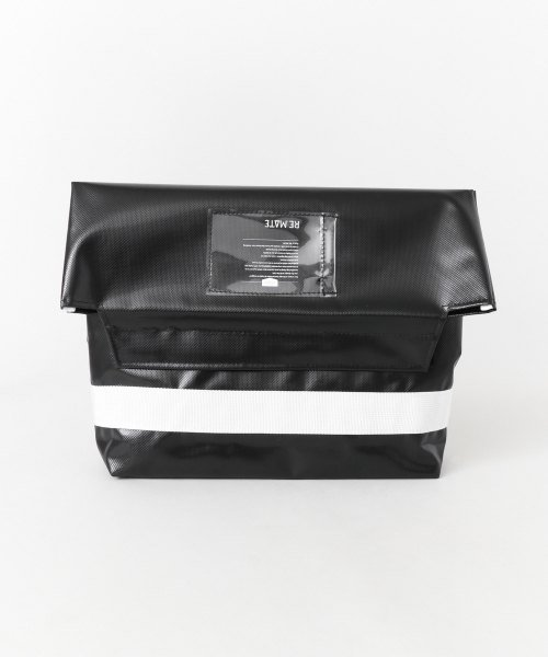 URBAN RESEARCH(アーバンリサーチ)/RE.MATE TARPAULIN CLUTCH/B/MA18AWOTH04UM_img01