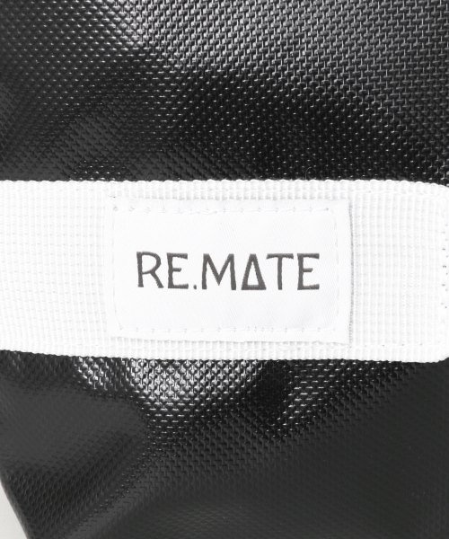 URBAN RESEARCH(アーバンリサーチ)/RE.MATE TARPAULIN CLUTCH/B/MA18AWOTH04UM_img06