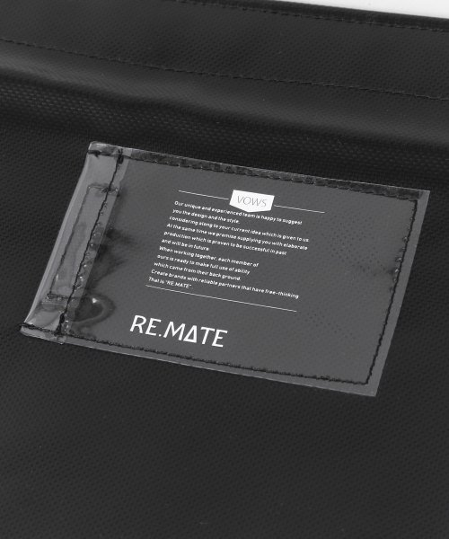 URBAN RESEARCH(アーバンリサーチ)/RE.MATE TARPAULIN CLUTCH/B/MA18AWOTH04UM_img07