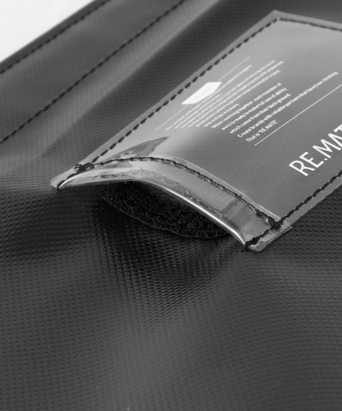 URBAN RESEARCH(アーバンリサーチ)/RE.MATE TARPAULIN CLUTCH/B/MA18AWOTH04UM_img08