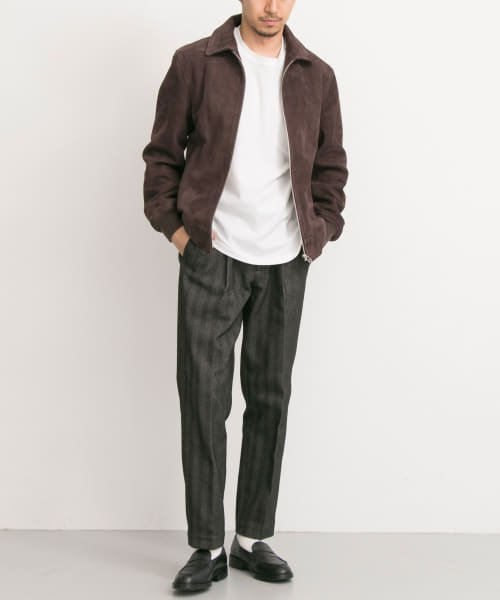 URBAN RESEARCH(アーバンリサーチ)/FREEMANS SPORTING CLUB JP GOAT SUEDE SPORTS JACKET/UF86-17B011_img01