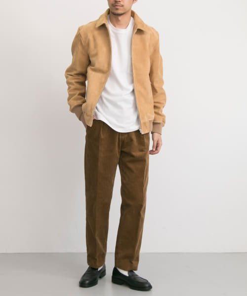 URBAN RESEARCH(アーバンリサーチ)/FREEMANS SPORTING CLUB JP GOAT SUEDE SPORTS JACKET/UF86-17B011_img02