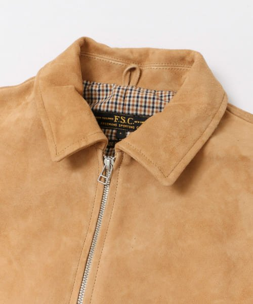 URBAN RESEARCH(アーバンリサーチ)/FREEMANS SPORTING CLUB JP GOAT SUEDE SPORTS JACKET/UF86-17B011_img08