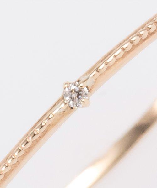 phoebe(フィービィー)/【K10】グリッターダイヤモンドリング/501841354_img05