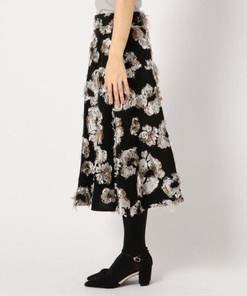 MISCH MASCH(ミッシュマッシュ)/花柄ジャカードフレアースカート/850000305119682_img01