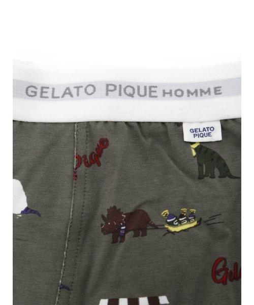 GELATO PIQUE HOMME(GELATO PIQUE HOMME)/【GELATO PIQUE HOMME】アイスクリームダイナソーボクサーパンツSET/PMCP185970_img05
