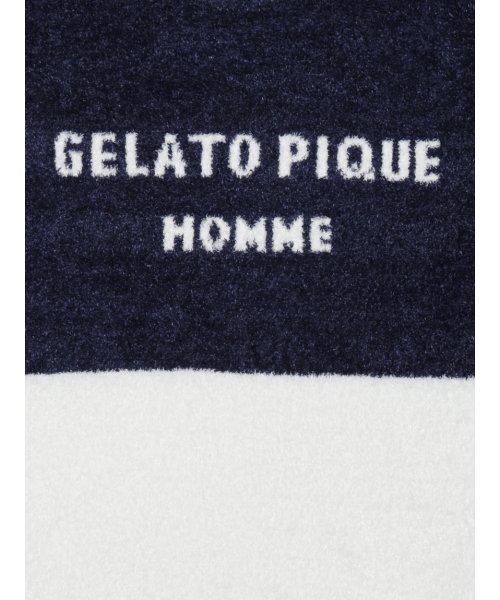 GELATO PIQUE HOMME(GELATO PIQUE HOMME)/【GELATO PIQUE HOMME】'スムーズィー'バイカラージャガードプルオーバー/PMNT185931_img04