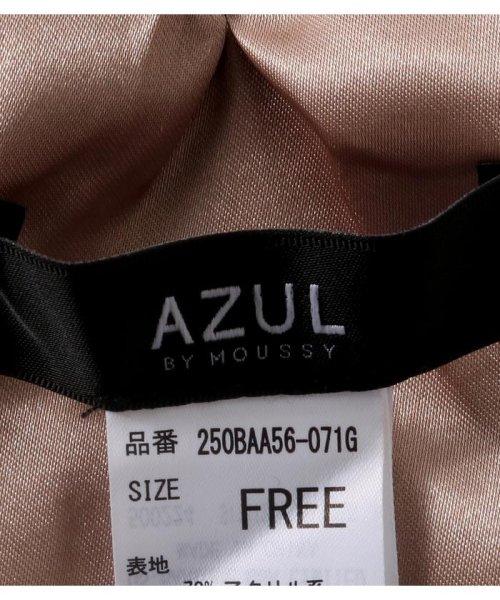 AZUL by moussy(アズールバイマウジー)/ミックスエコファー変形ティペット/250BAA56-071G_img07