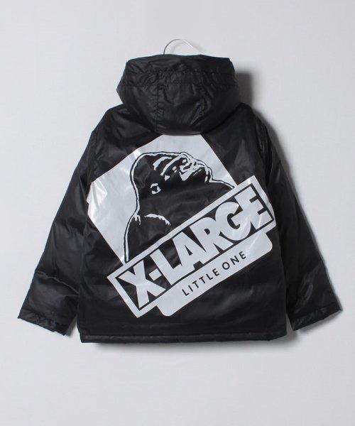 XLARGE KIDS(エクストララージ キッズ)/フードつきダウン入りジャケット/9484302_img01