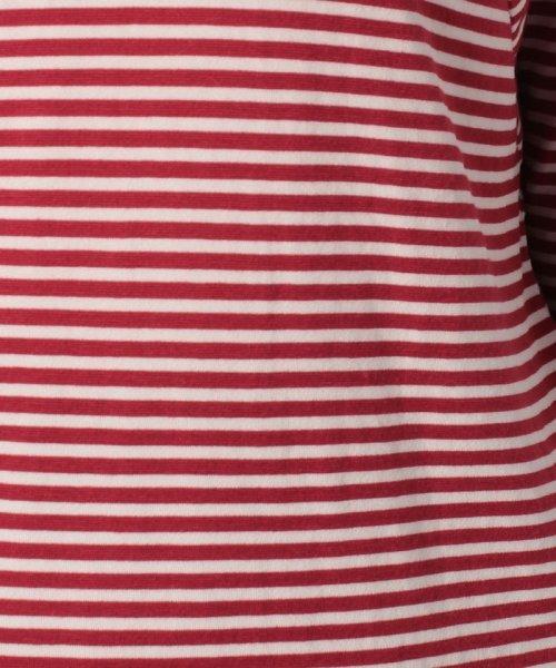 LAPINE BLEUE(ラピーヌ ブルー)/【洗える】テンセルハイゲージ片袋Vネック/230842_img04