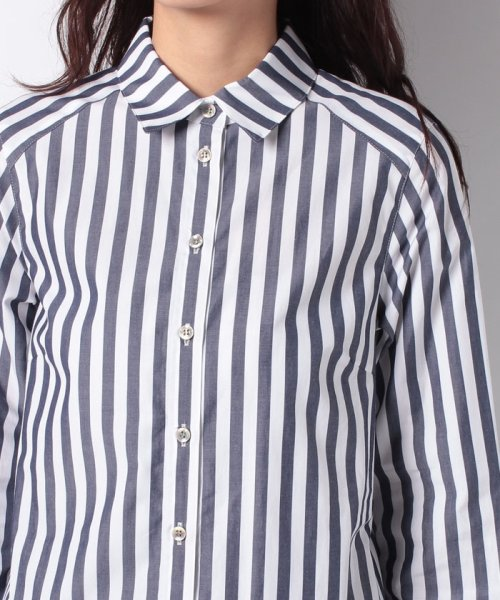 LAPINE BLEUE(ラピーヌ ブルー)/【洗える】サイロストライプシャツ/230845_img03